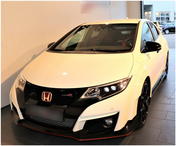 honda civic type-r из германии