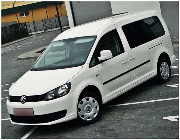 volkswagen caddy из германии