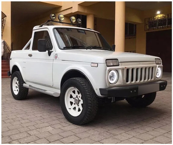 niva pickup cars from Russia