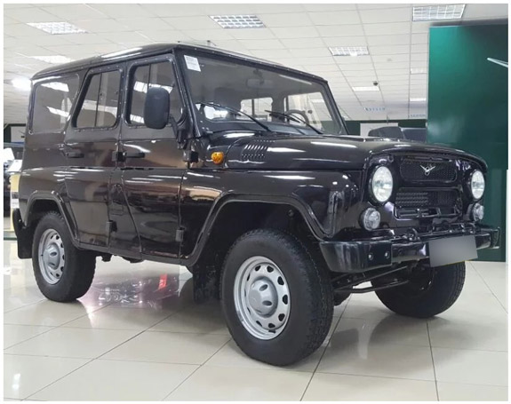 uaz hunter cars from Russia